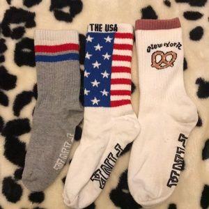 Bundle of long socks